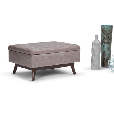 Owen Coffee Table Ottoman With Storage
