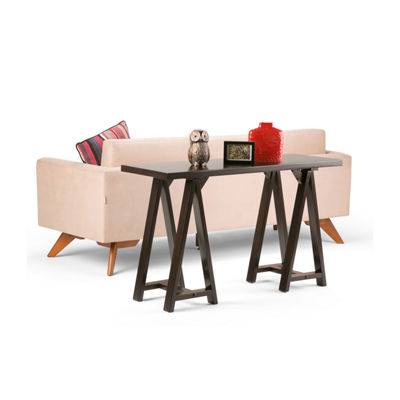 Sawhorse Console Sofa Table