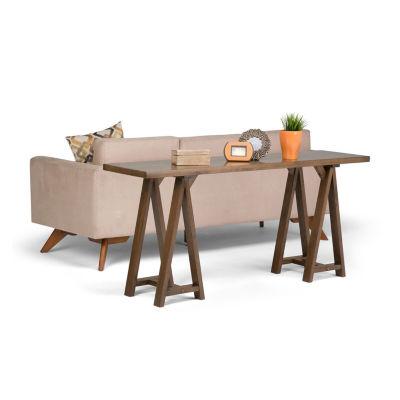 Sawhorse Wide Console Sofa Table