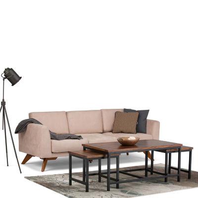 Skyler Nesting 3 Pc Coffee Table