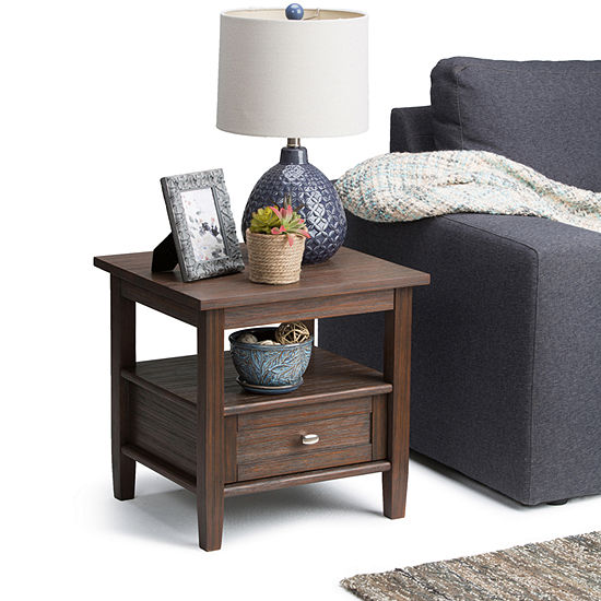 Strange Warm Shaker End Side Table Home Interior And Landscaping Fragforummapetitesourisinfo