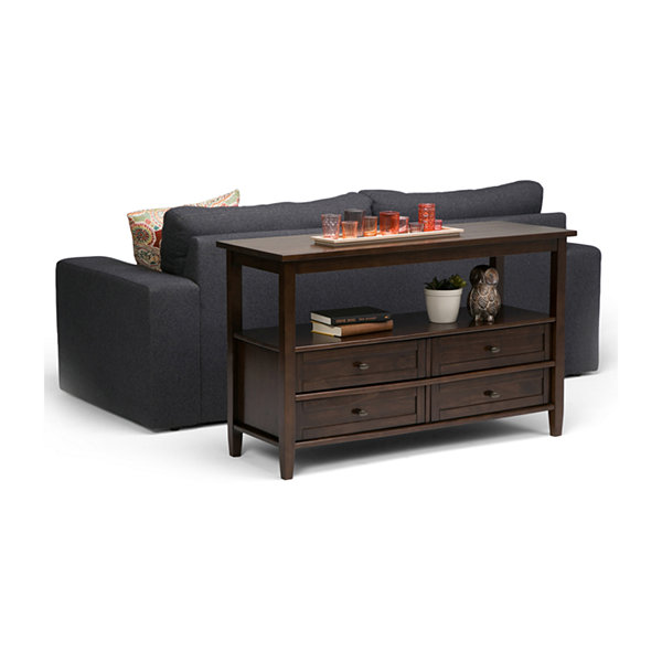 Warm Shaker Console Sofa Table
