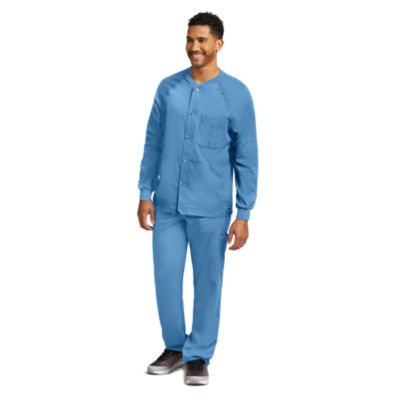 Barco™ Greys Anatomy 0406 Men's Raglan Scrub Jacket - Big