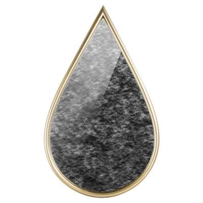 Millennium Art Teardrop Framed Antiqued Wall Mirror
