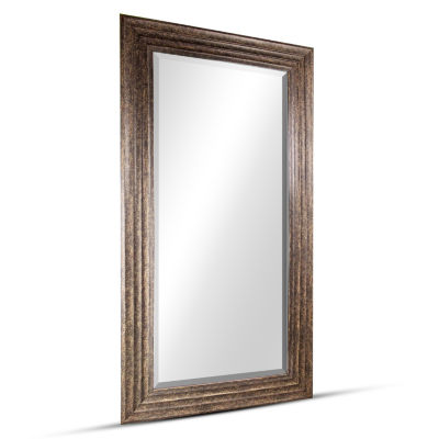 Everett Large Rectangular Framed Beveled Wall/Vanity Mirror