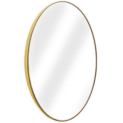 Millennium Art Oval Framed Wall Vanity Infinity Mirror