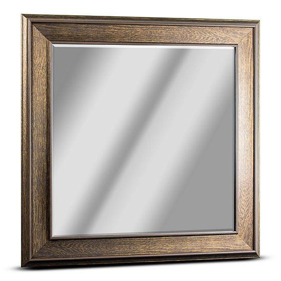 Everett Square Framed Wall Mirror