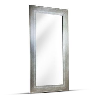 Leighton Rectangular Driftwood Framed Wall Mirror