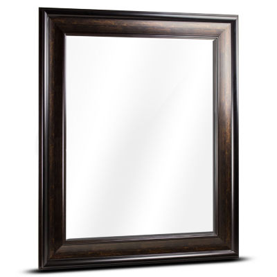 Hartley Large Rectangular Framed Beveled Wall/Vanity Mirror
