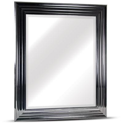 Everett Medium Rectangular Glossy Framed Beveled Wall/Vanity Mirror