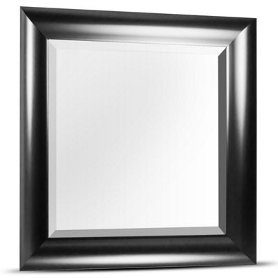 Leighton Square Framed Beveled Wall/Vanity Mirror