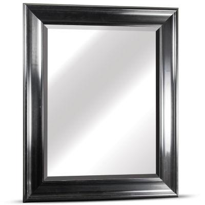 Elisa Rectangular Glossy Framed Beveled Wall/Vanity Mirror