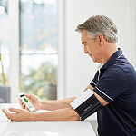 Wireless Arm Smart Blood Pressure Monitor
