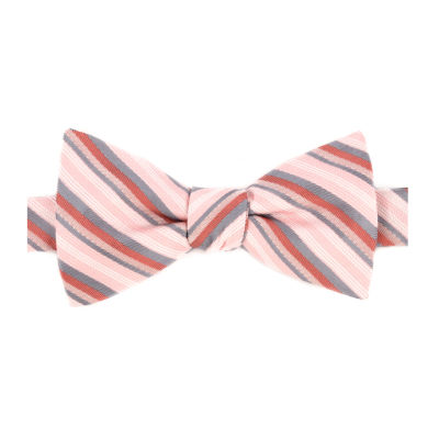 Stafford Stripe Bow Tie