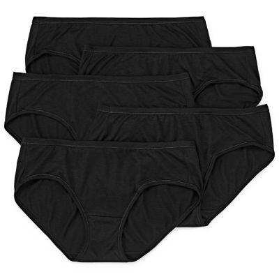 Hanes Cool Comfort™ Comfortsoft™ 5 Pack Hipster Panty 46hush