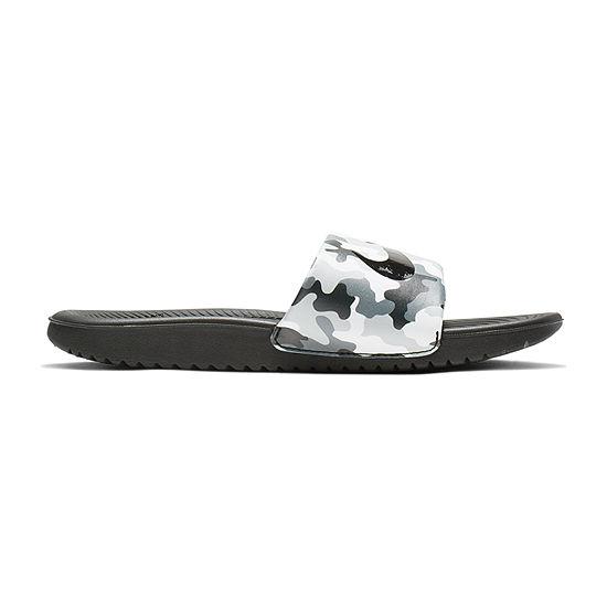 Nike Little Kid/Big Kid Boys Kawa Slide Print Slide Sandals