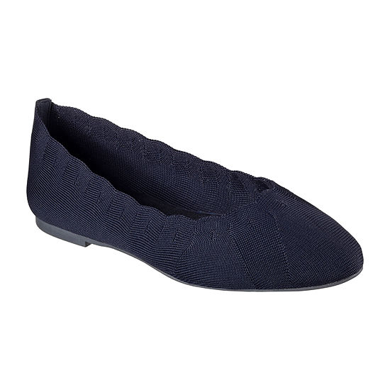 Skechers Womens Cleo-Bewitch Ballet Flats