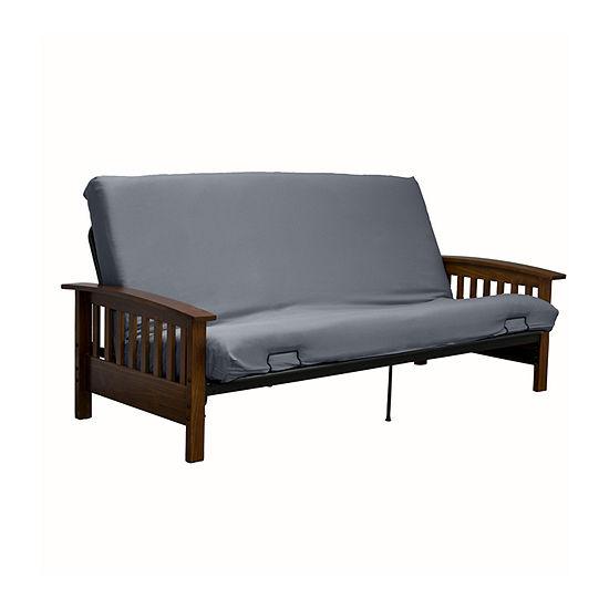 Serta Stretch Twill Futon Cover Sofa Protector