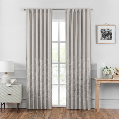 Croscill Classics Penelope Light-Filtering Back-Tab Curtain Panel