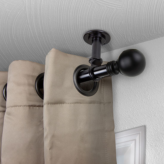 Rod Desyne Globe Ceiling Curtain Rod