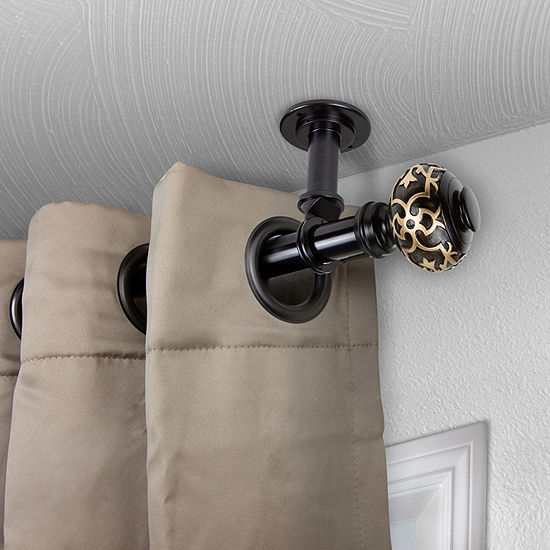 Rod Desyne Maple Ceiling Curtain Rod