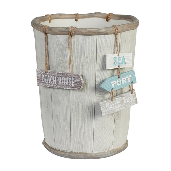 Creative Bath Driftwood Waste Basket