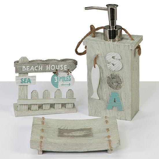 Creative Bath Driftwood 3-pc. Bath Accessory Set