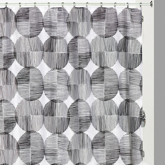 Creative Bath Metro Circles Shower Curtain