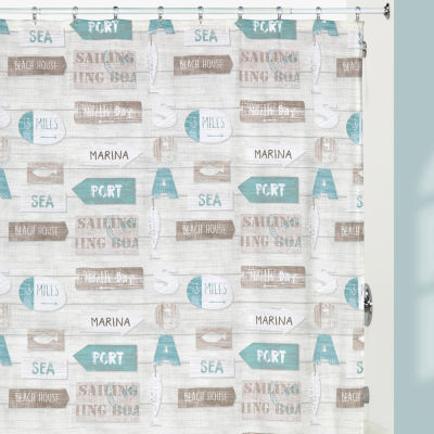 Creative Bath Driftwood Shower Curtain