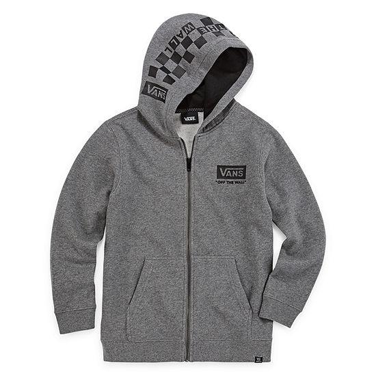 Vans Fleece Hooded Lightweight Jacket Preschool / Big Kid Boys