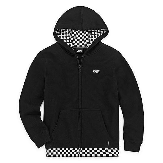 Vans Boys Fleece Hooded Lightweight Jacket Preschool / Big Kid