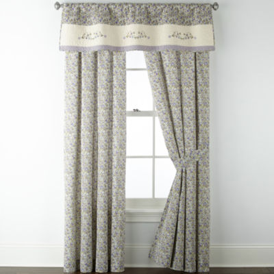 JCPenney Home Kennedy Light-Filtering Rod-Pocket Curtain Panel