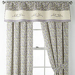JCPenney Home Light-Filtering Rod-Pocket Set of 2 Curtain Panel