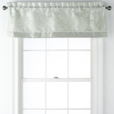Liz Claiborne Laurent Rod-Pocket Tailored Valance
