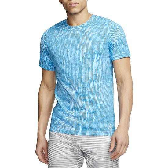 Nike-Big and Tall Mens Crew Neck Short Sleeve Moisture Wicking T-Shirt