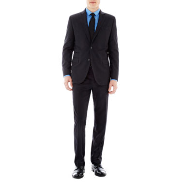 jcpenney.com | JF J. Ferrar® Black Striped Suit Separates - Slim Fit
