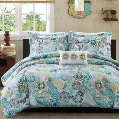 Mi Zone Simi Paisley Comforter Set