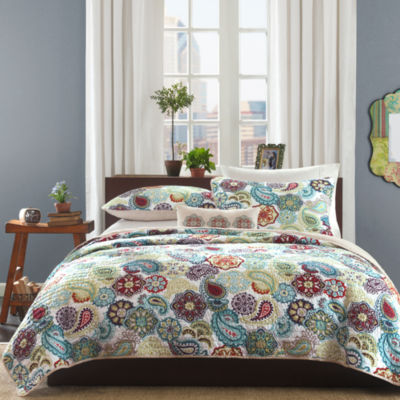 Mi Zone Asha Paisley Coverlet Set