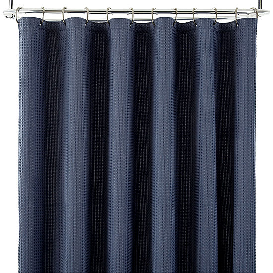 JCPenney HomeTM Parker Waffle Shower Curtain