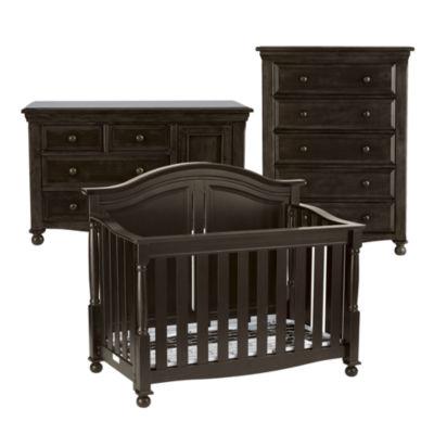 Bedford Baby Monterey 3 Pc. Baby Furniture Set   Chocolate