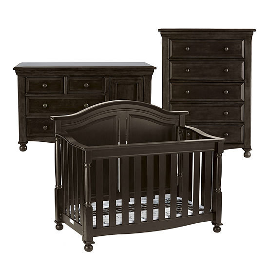 Bedford Baby Monterey 3 Pc Furniture Set Chocolate