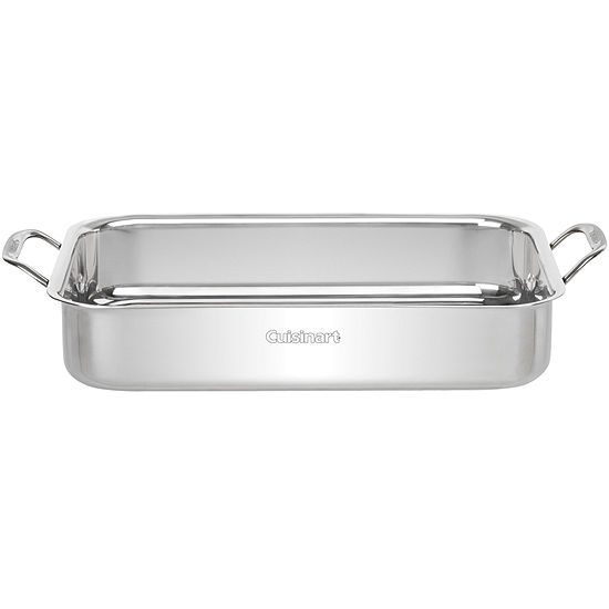 "Cuisinart® 14"" Lasagna/Roasting Pan with Stainless Steel Rack"