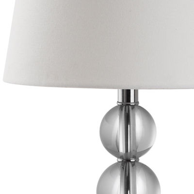 Hayden Crystal Ball Table Lamp- Set of 2