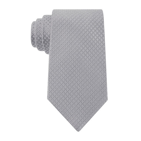 Stafford® Windmill Solid Silk Tie