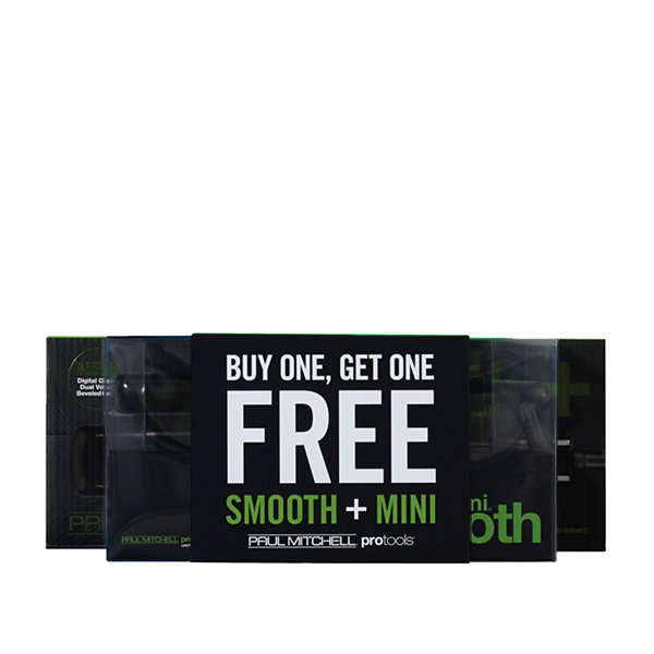 Paul Mitchell Appliances Free Mini Smooth® Iron With Purchase Of Smooth®+ Flat Iron