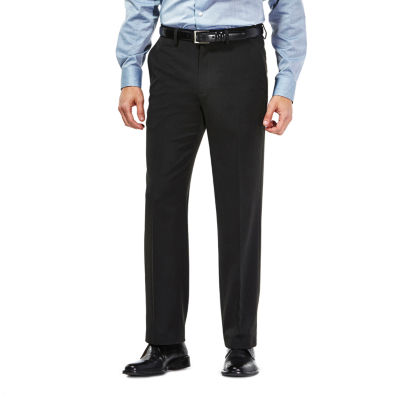 Haggar Travel Performance Heather Pinstripe Classic Fit Suit Pants