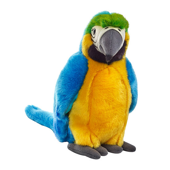 National Geographic Plush  Yellow Tropical Parrot