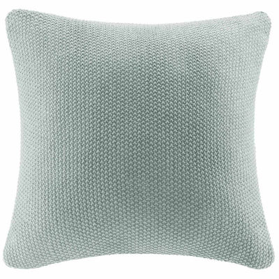 INK+IVY Bree Knit Euro Pillow Cover