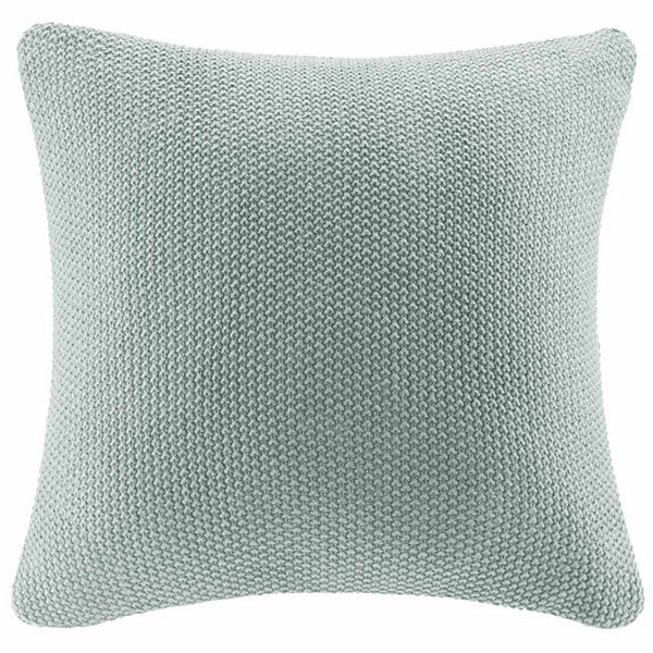 INK+IVY Bree Knit Square Pillow Cover