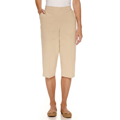 Alfred Dunner Classics High Rise Capris